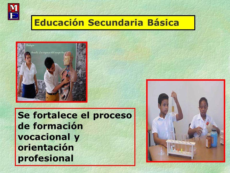 Se fortalece el proceso de formación vocacional y orientación profesional Educación Secundaria Básica