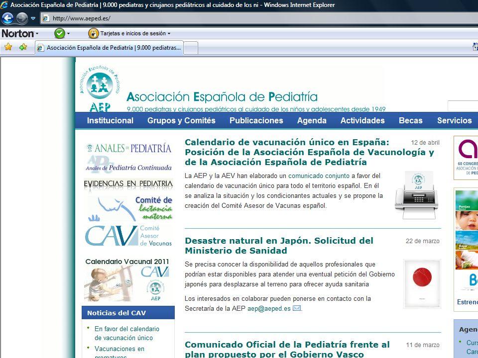 Blogs pediátricos Reflexiones de un Pediatra curtido Pediatres de Ponent Diario de una mamá Pediatra Pediatría basada en pruebas Hij@s de Eva y Adán El médico de mi hij@ Sin estetoscopio Con estetoscopio Infectología pediátrica http://drgarcia-tornel.blogspot.com/ http://pediatresdeponent.blogspot.com/ http://dra-amalia-arce.blogspot.comhttp://dra-amalia-arce.blogspot.com/ http://www.pediatriabasadaen http://www.pediatriabasadaen pruebas.com/ http://hijosdeevayadan.orghttp://hijosdeevayadan.org/ http://elmedicodemihijo.wordpress.cohttp://elmedicodemihijo.wordpress.com http://sinestetoscopio.com/ http://conestetoscopio.com/ http://infectologiapediatrica.com/