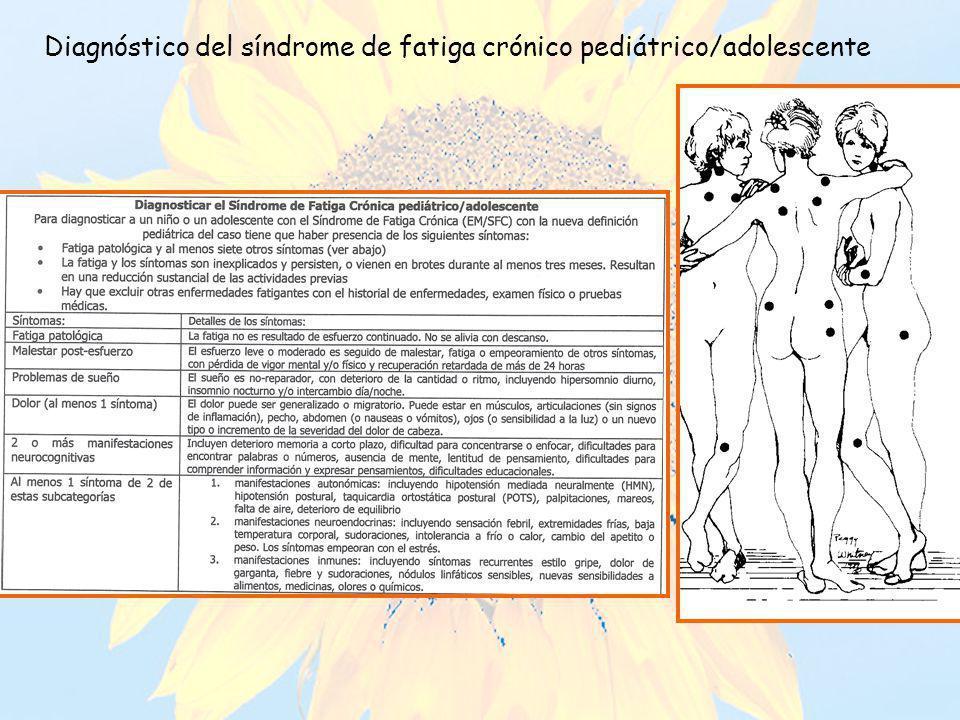 Diagnóstico del síndrome de fatiga crónico pediátrico/adolescente