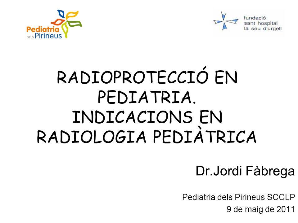 Los niños durante su crecimiento son más sensibles a los efectos nocivos de la radiación.
