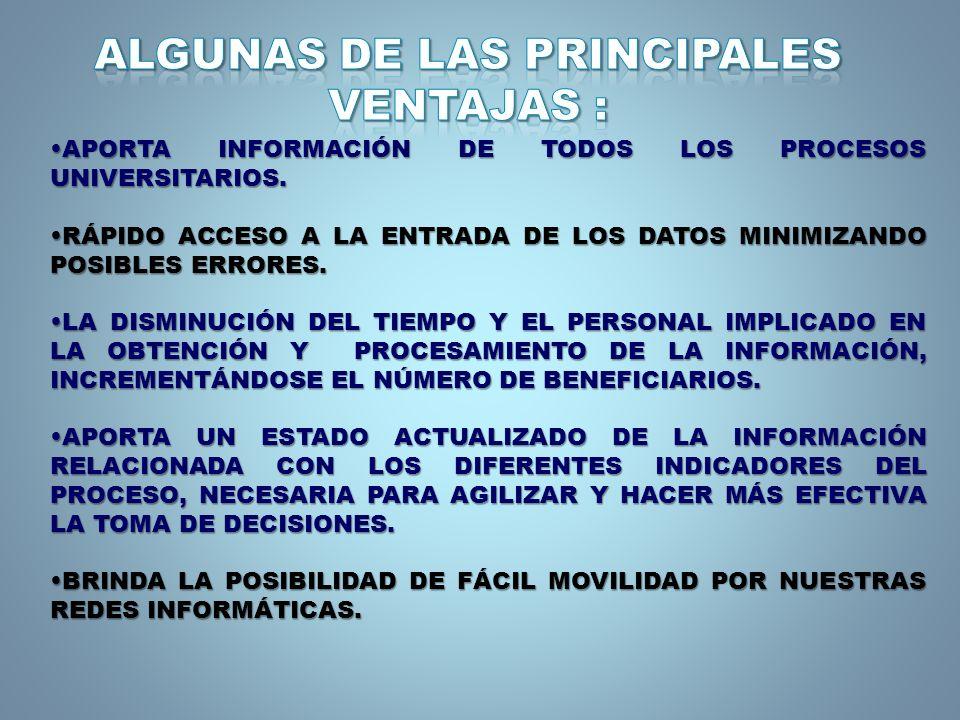 APORTA INFORMACIÓN DE TODOS LOS PROCESOS UNIVERSITARIOS.APORTA INFORMACIÓN DE TODOS LOS PROCESOS UNIVERSITARIOS.