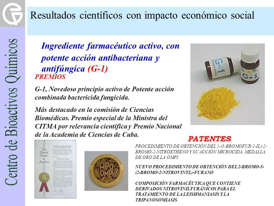 Ingrediente farmacéutico activo, con potente acción antibacteriana y antifúngica (G-1) NUEVO PROCEDIMIENTO DE OBTENCIÓN DEL 2-BROMO-5- (2-BROMO-2-NITR