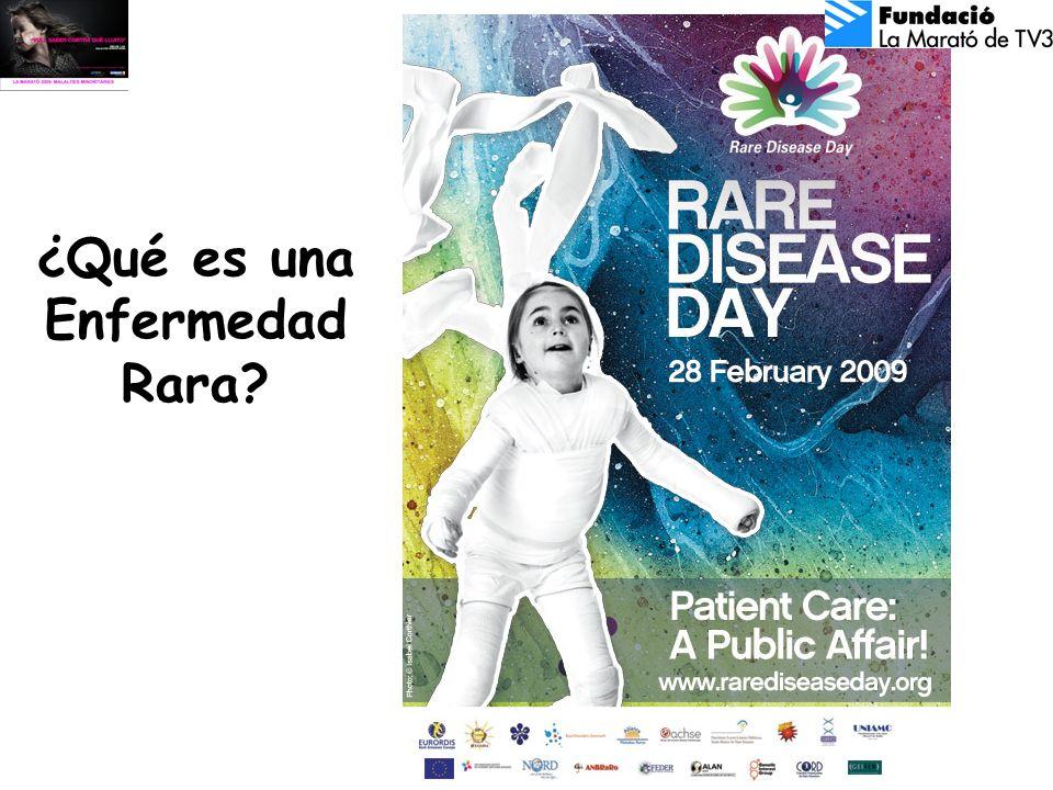 Encuesta en el día de las enfermedades raras 25% de los pacientes, han necesitado entre 5 y 30 años hasta que le han diagnosticado la enfermedad.