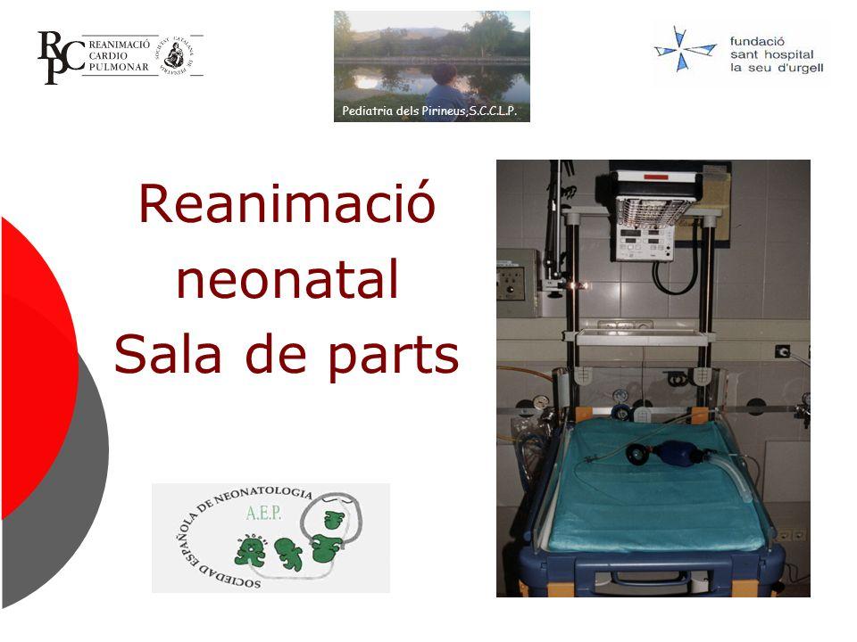 Reanimación neonatal.Fase inicial A los 30 segundos … Valoración de la respiración ¿ Respira .