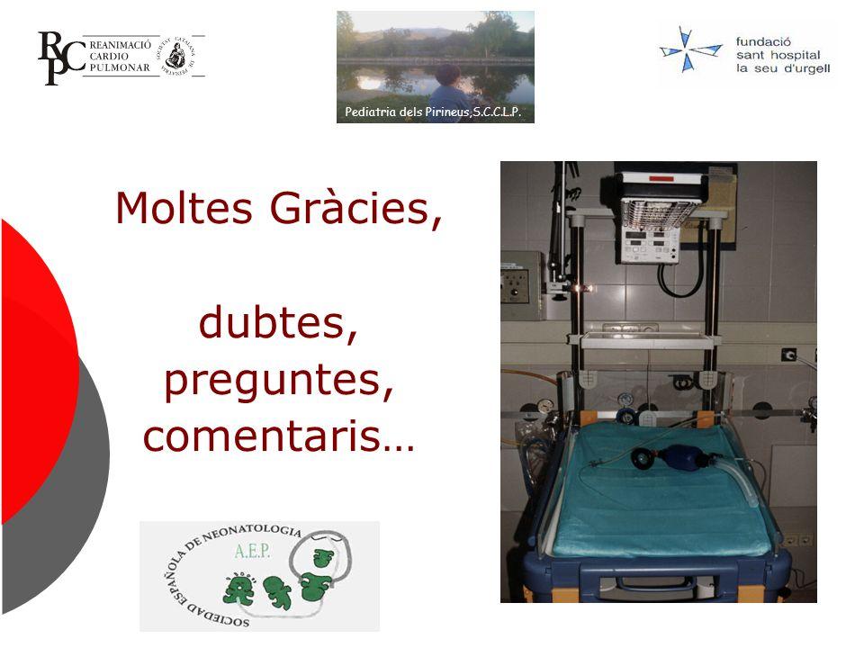Moltes Gràcies, dubtes, preguntes, comentaris… Pediatria dels Pirineus,S.C.C.L.P.