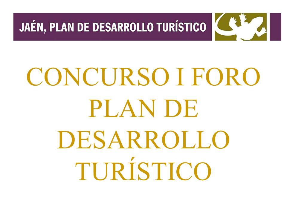 CONCURSO I FORO PLAN DE DESARROLLO TURÍSTICO