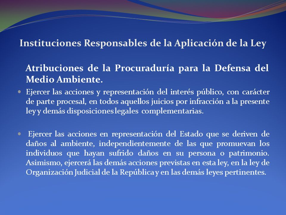 Descripción de los Delitos Ambientales Delitos contra las Áreas Protegidas.