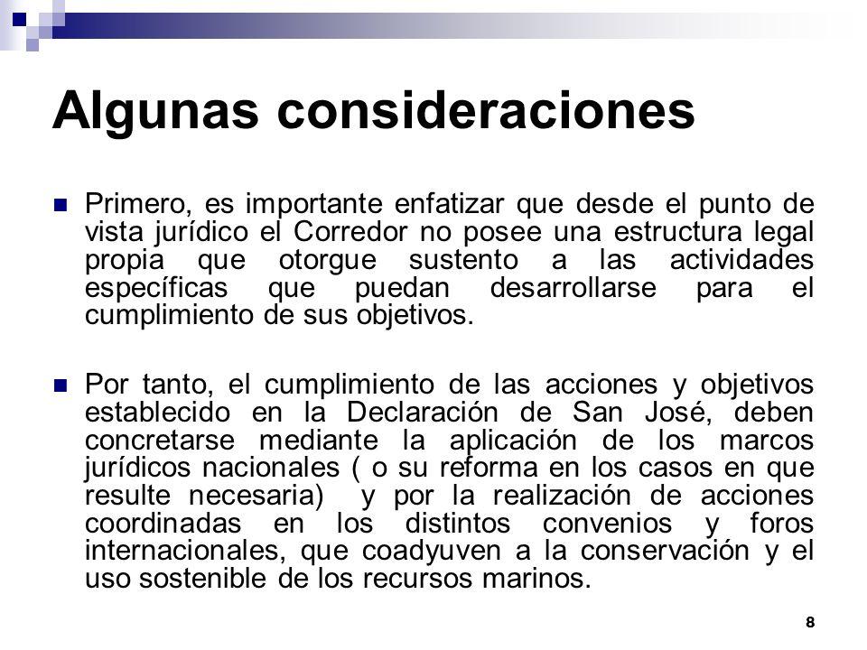 29 Ecuador: Principales hallazgos No se cuenta con institucionalidad propia.