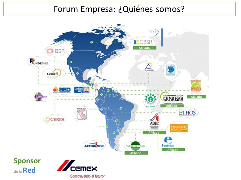 Sponsor de la Red Forum Empresa: ¿Quiénes somos