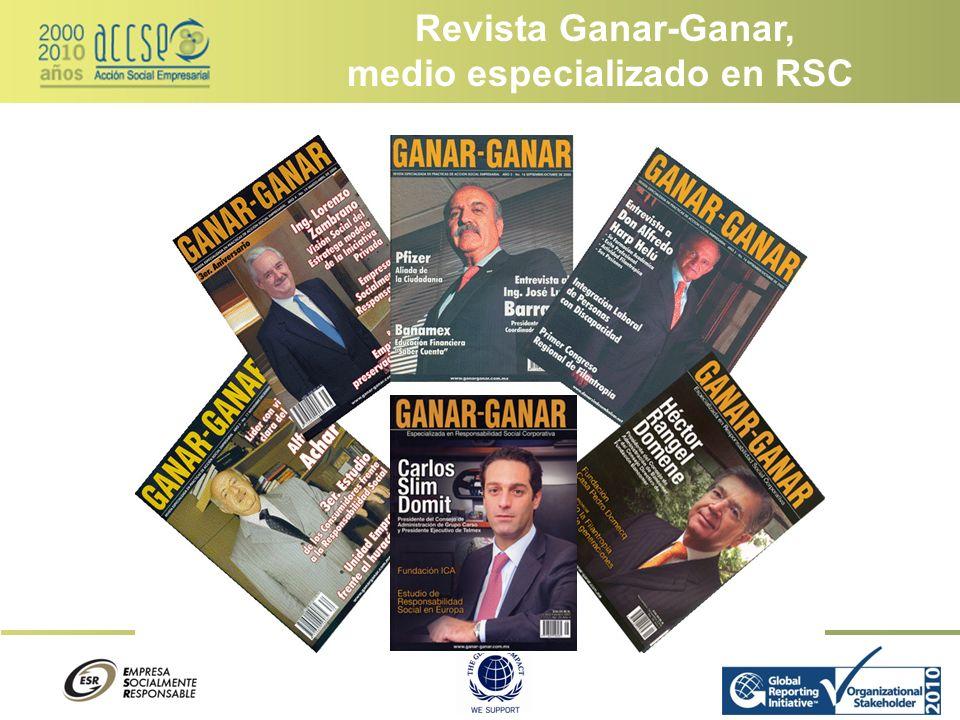 Desarrollo Sustentable y RSC – Jueves y Viernes 21 hrs.