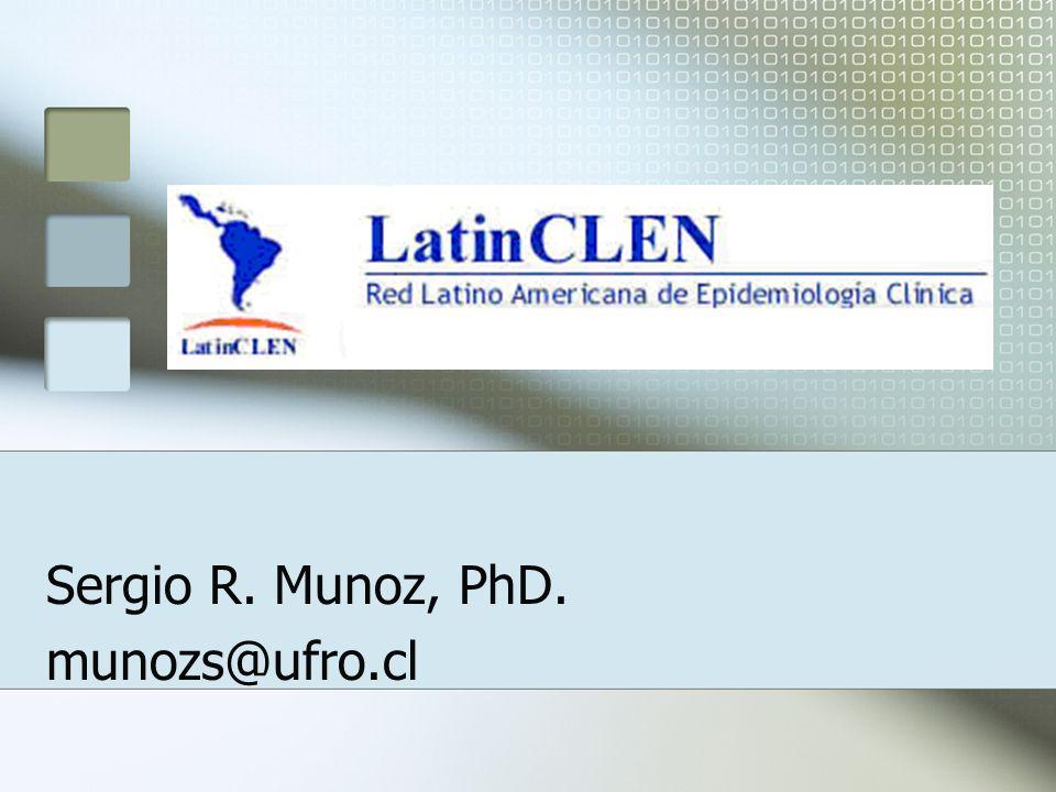 Sergio R. Munoz, PhD. munozs@ufro.cl