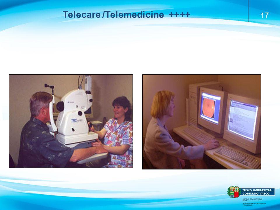 17 Diabetic retinopathy Telecare /Telemedicine ++++