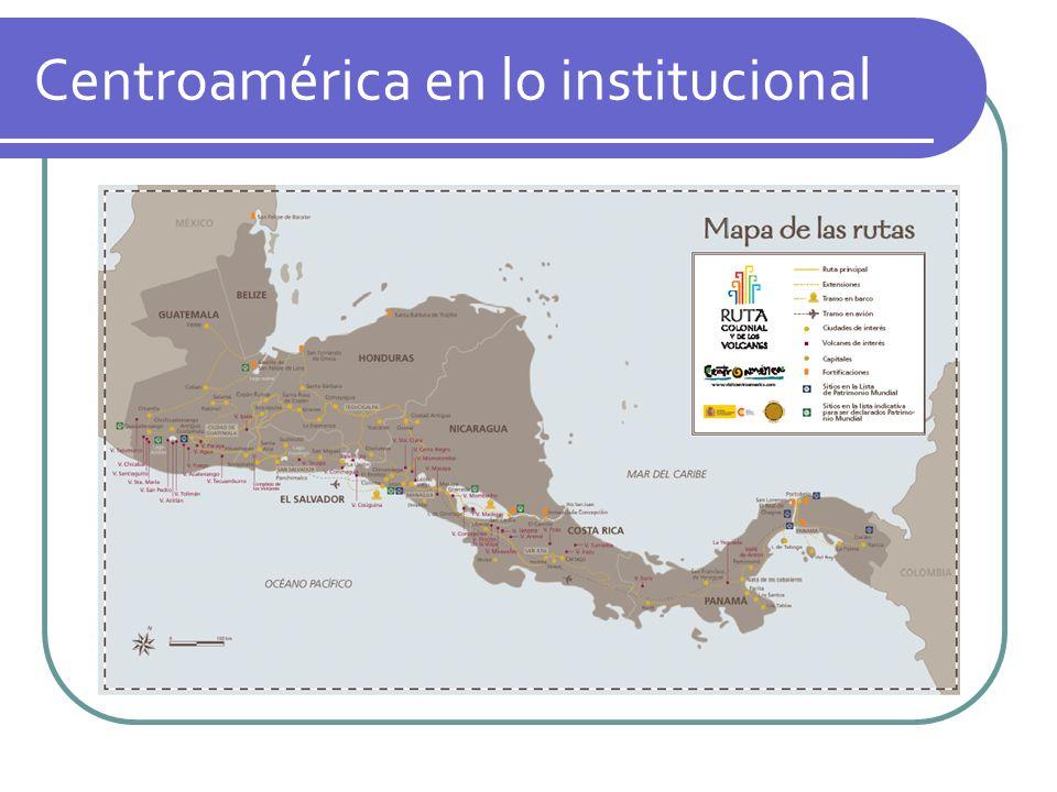 Centroamérica en lo institucional