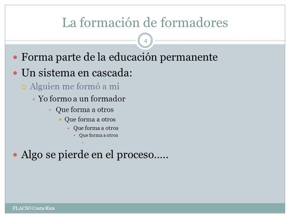 La educación no formal No se persigue un grado académico, sino el aprender a cómo hacer.