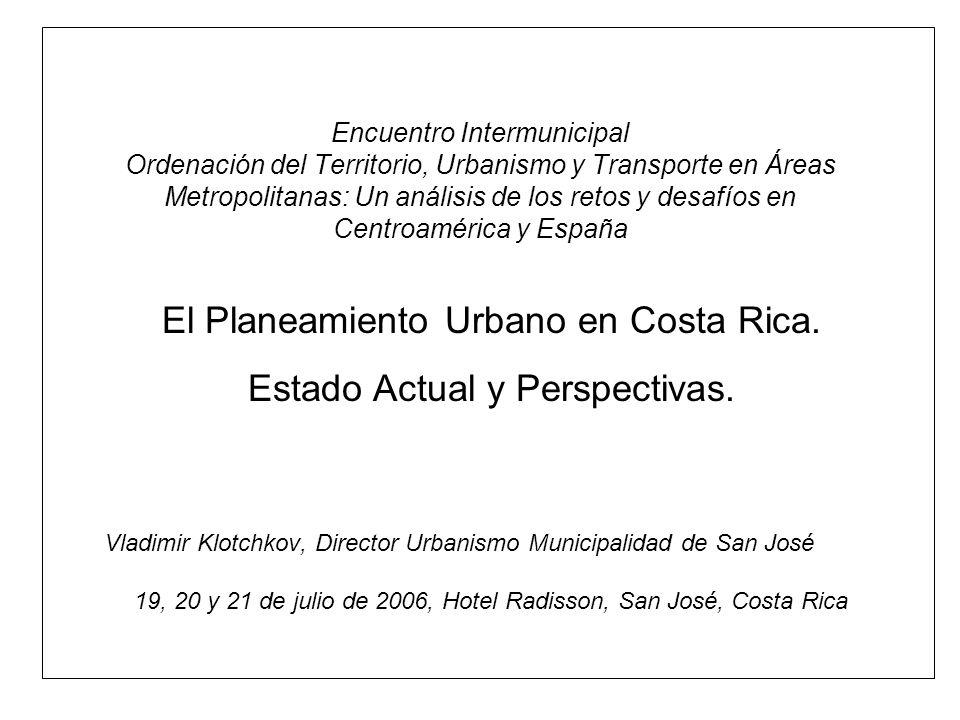 vklotchkov@msj.co.cr 19/07/06 2 Agenda.Evolución de Crecimiento Urbano del AMSJ.