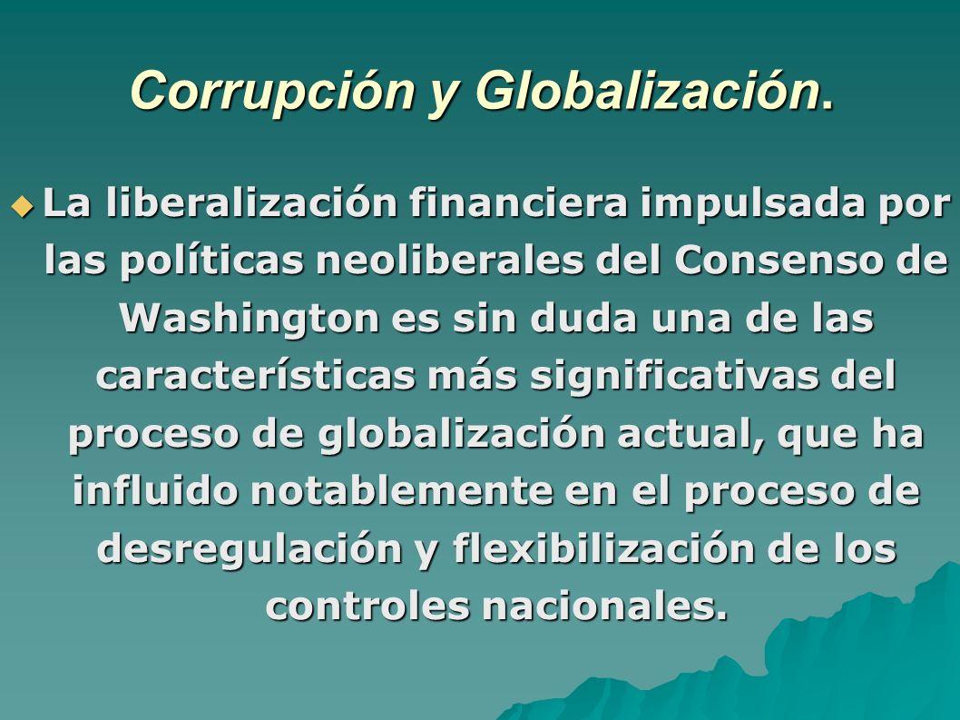 Corrupción y Globalización.