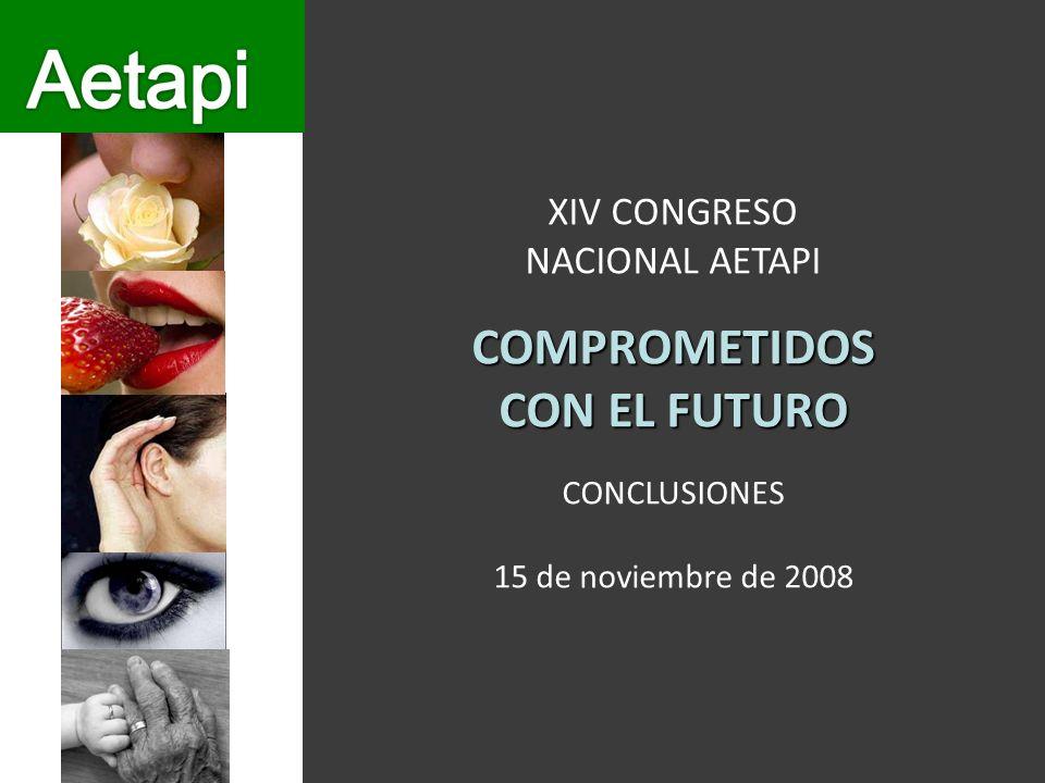 XIV CONGRESO NACIONAL AETAPICOMPROMETIDOS CON EL FUTURO CONCLUSIONES 15 de noviembre de 2008