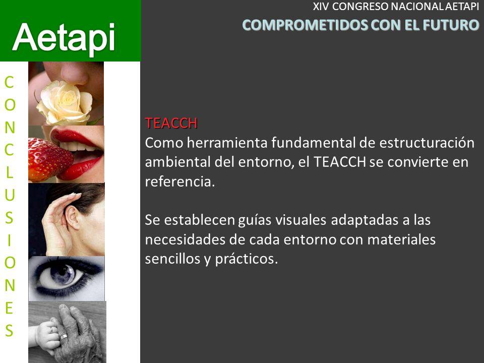TEACCH Como herramienta fundamental de estructuración ambiental del entorno, el TEACCH se convierte en referencia.