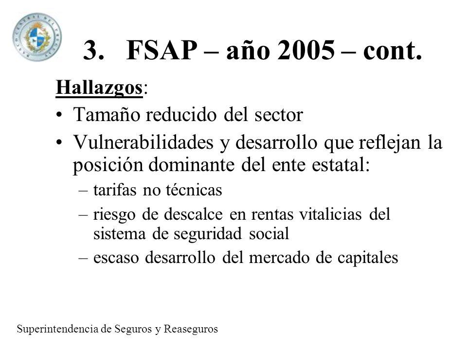 3.FSAP – año 2005 – cont.