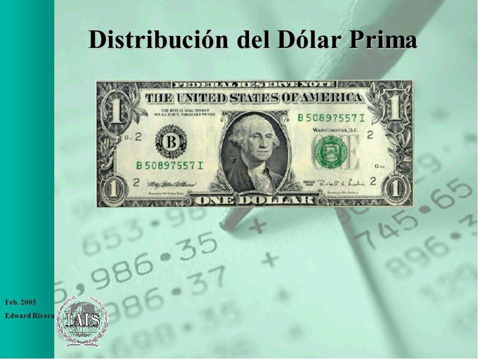 Feb. 2005 Edward Rivera Distribución del Dólar Prima
