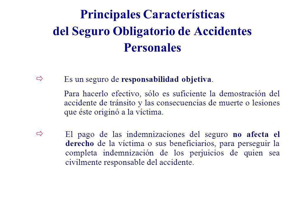 ðEl pago de las indemnizaciones del seguro no afecta el derecho de la víctima o sus beneficiarios, para perseguir la completa indemnización de los per