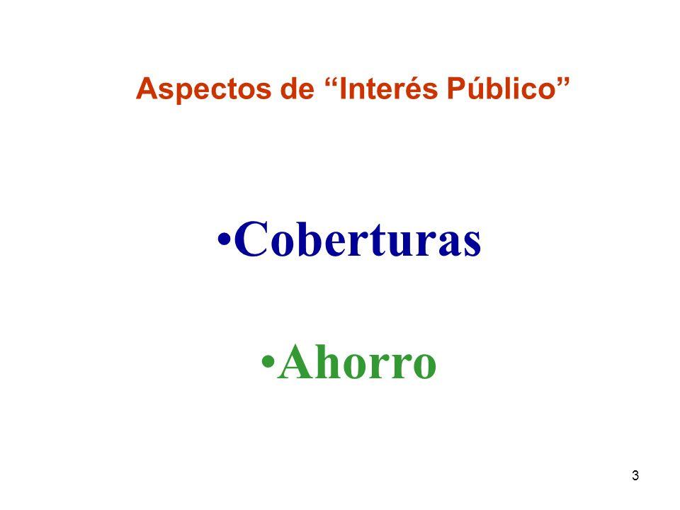 3 Aspectos de Interés Público Coberturas Ahorro
