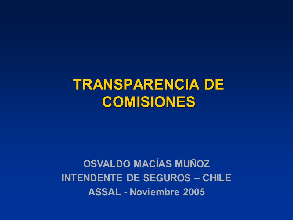 DESARROLLO DE LA BANCASEGUROS EN CHILE DISTRIBUCIÓN DE COMISIONES EN SEGUROS GENERALES (Muestra año 2004)