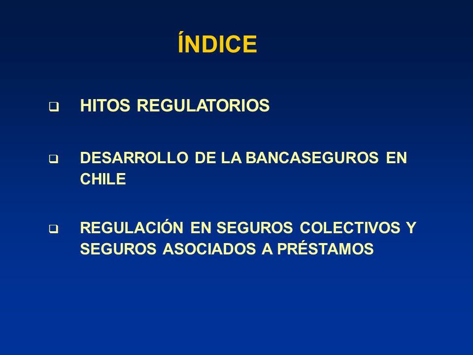 DESARROLLO DE LA BANCASEGUROS EN CHILE DISTRIBUCIÓN DE COMISIONES EN SEGUROS DE VIDA (Muestra año 2004)