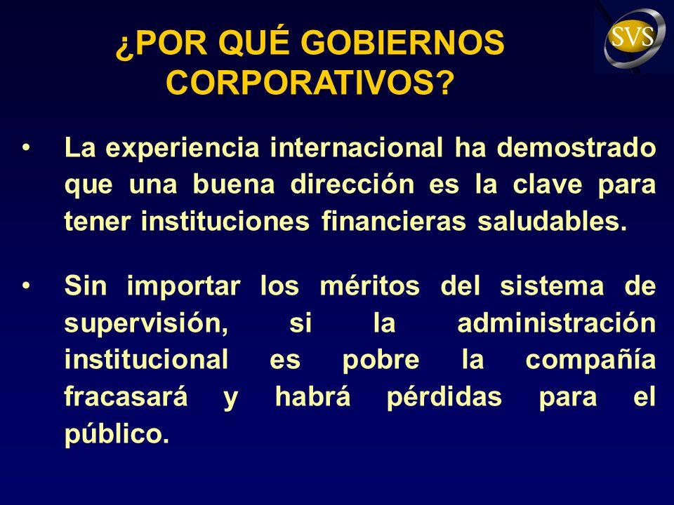 CONCLUSIONES La regulación y la fiscalización son fundamentales, pero insuficientes...