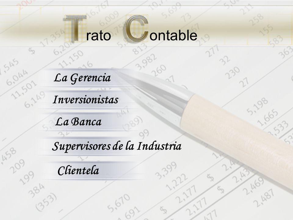 ratoontable La Gerencia Inversionistas La Banca Supervisores de la Industria Clientela