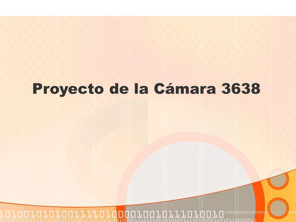 Proyecto de la Cámara 3638