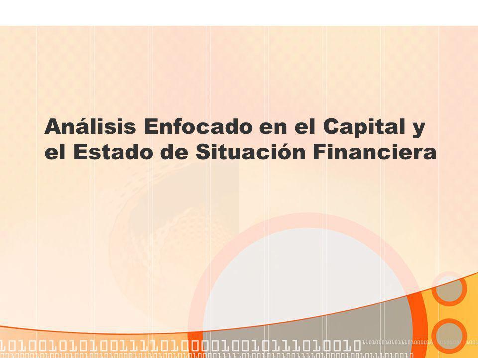 Análisis Enfocado en el Capital y el Estado de Situación Financiera