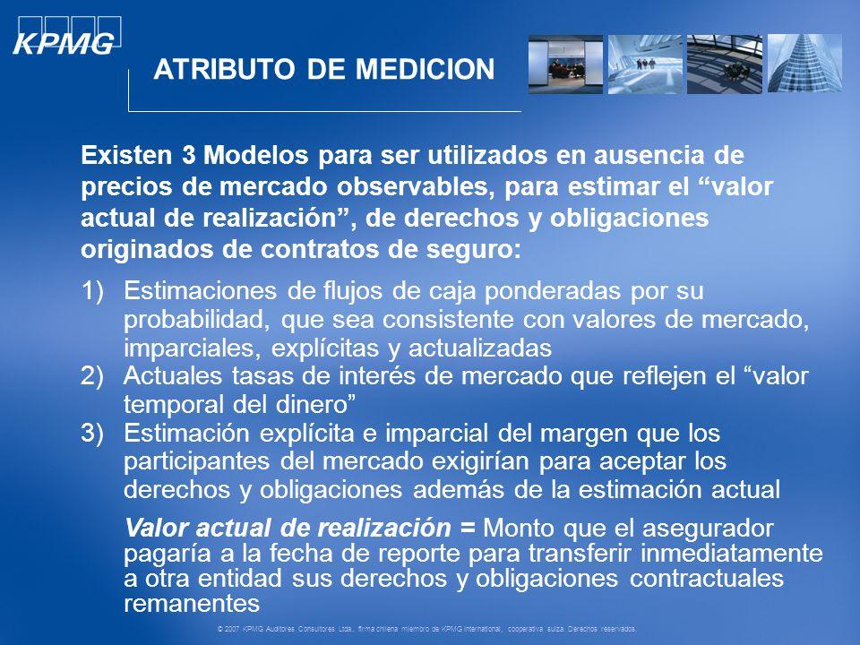 © 2007 KPMG Auditores Consultores Ltda., firma chilena miembro de KPMG International, cooperativa suiza.