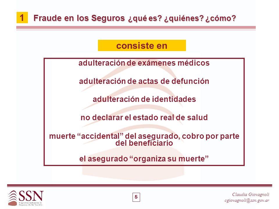 adulteración de exámenes médicos adulteración de actas de defunción adulteración de identidades no declarar el estado real de salud muerte accidental