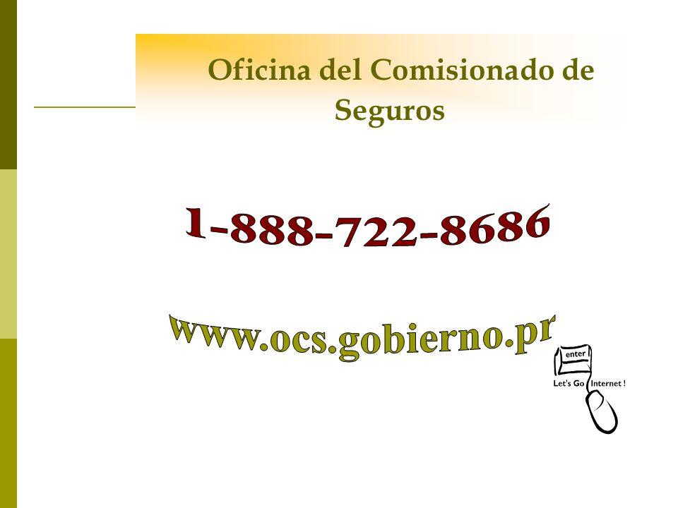 Oficina del Comisionado de Seguros