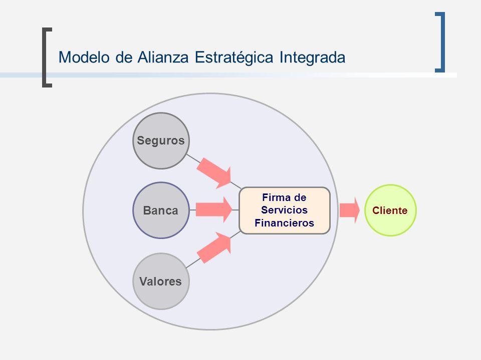 Modelo de Alianza Estratégica Integrada Cliente Seguros Banca Valores Firma de Servicios Financieros