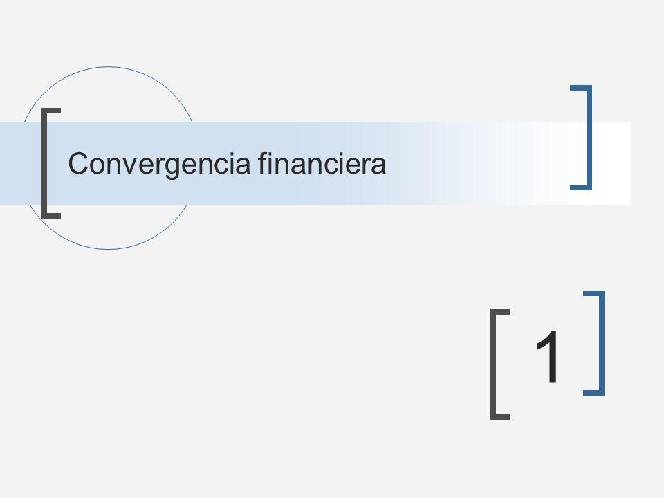 Convergencia financiera 1