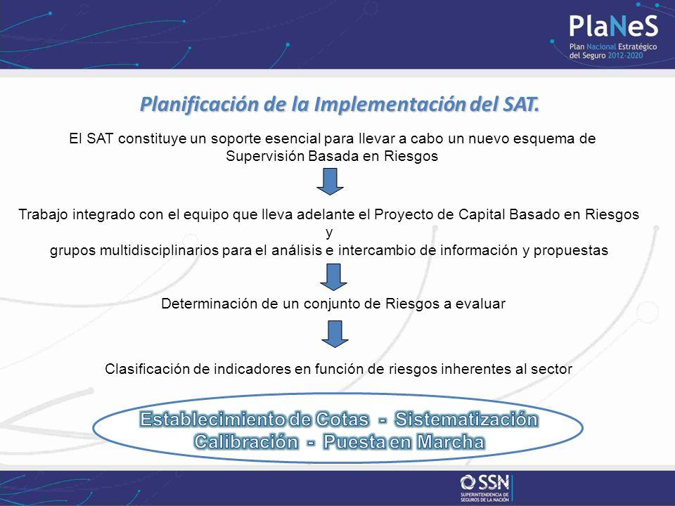 Planificación de la Implementación del SAT. Planificación de la Implementación del SAT.