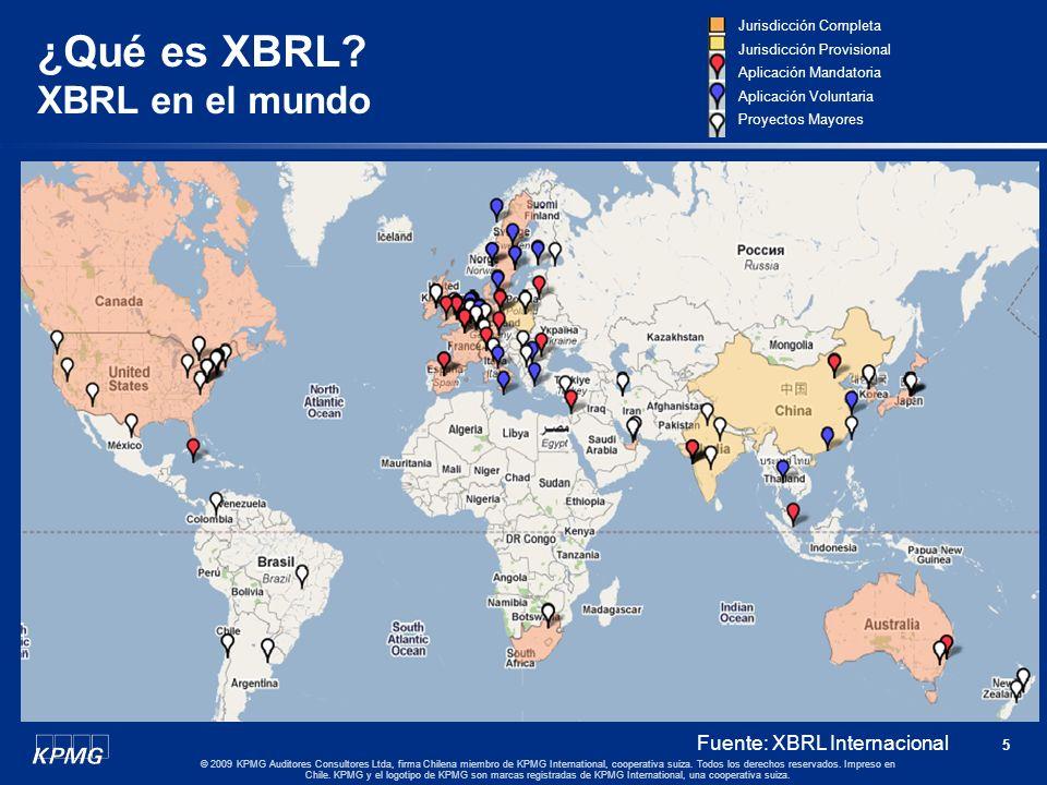 4 © 2009 KPMG Auditores Consultores Ltda, firma Chilena miembro de KPMG International, cooperativa suiza. Todos los derechos reservados. Impreso en Ch
