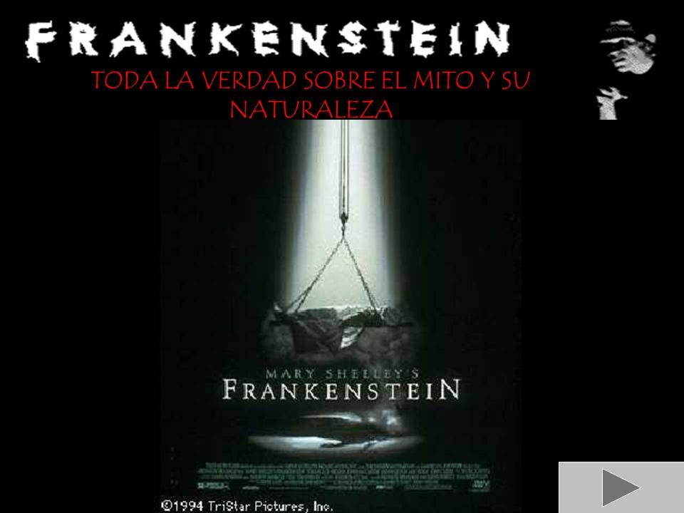 EL PERSONAJE: FRANKENSTEIN LA OBRA: FRANKENSTEIN, O EL MODERNO PROMETEO LA AUTORA: MARY SHELLEY ALBUM DE IMÁGENES ÍNDICE