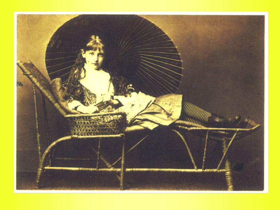 La primera Alicia imaginada por John Tenniell