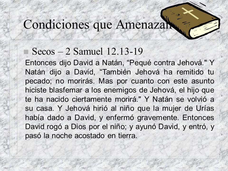 Entonces dijo David a Natán, Pequé contra Jehová.