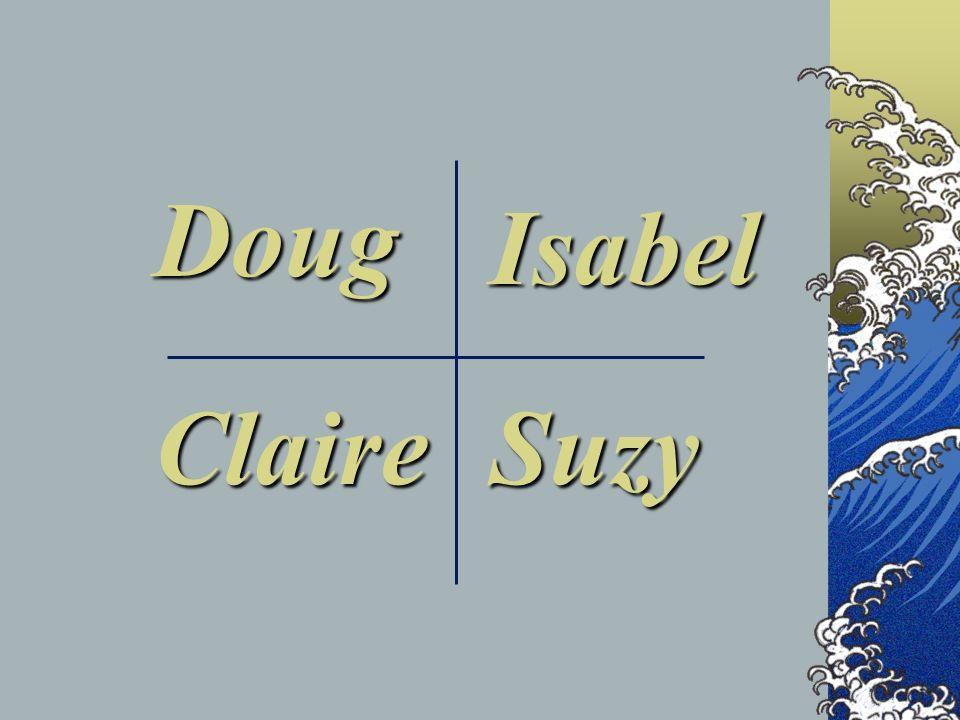 Doug Isabel SuzyClaire