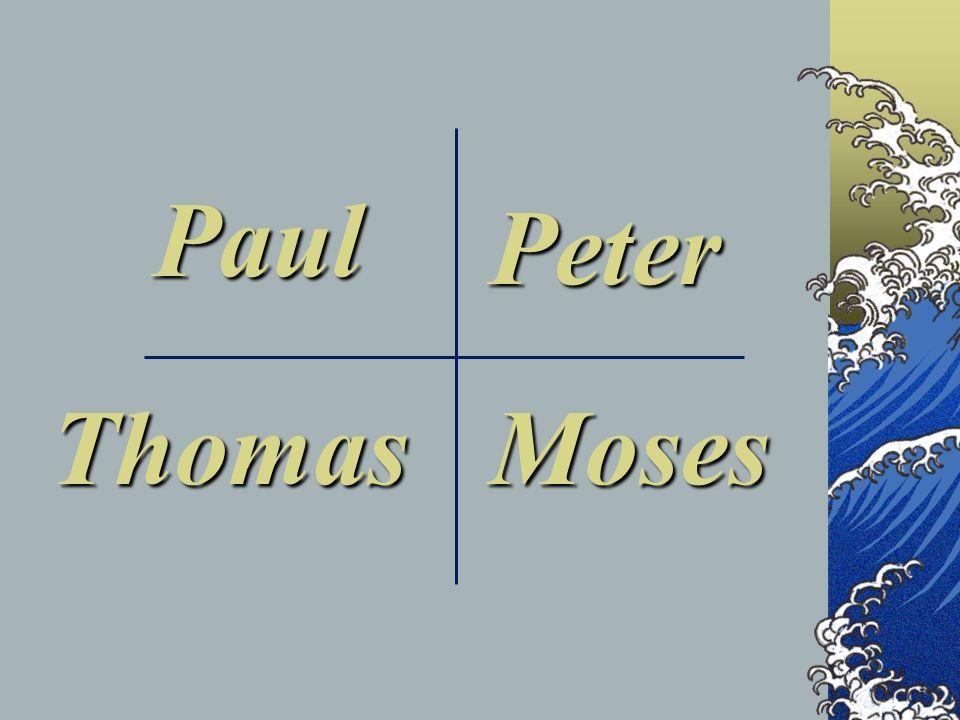 Paul Peter MosesThomas