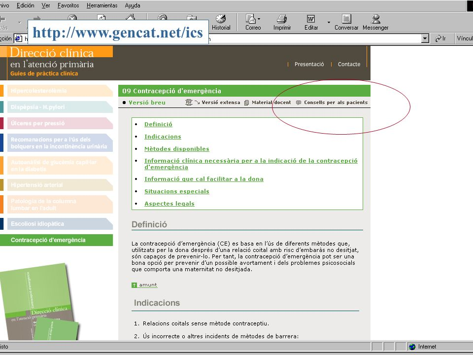 11 www.gencat.net/ics http://www.gencat.net/ics