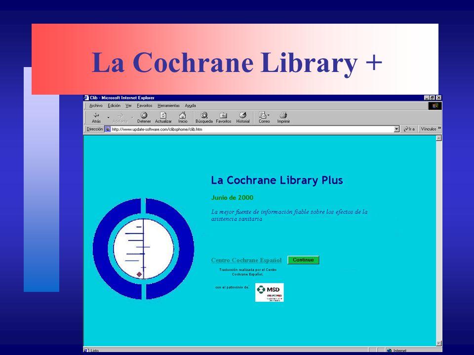 La Cochrane Library +