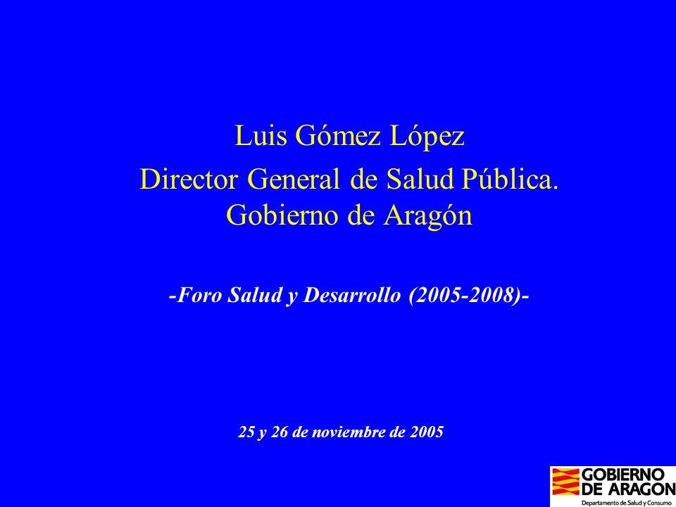 Luis Gómez López Director General de Salud Pública.