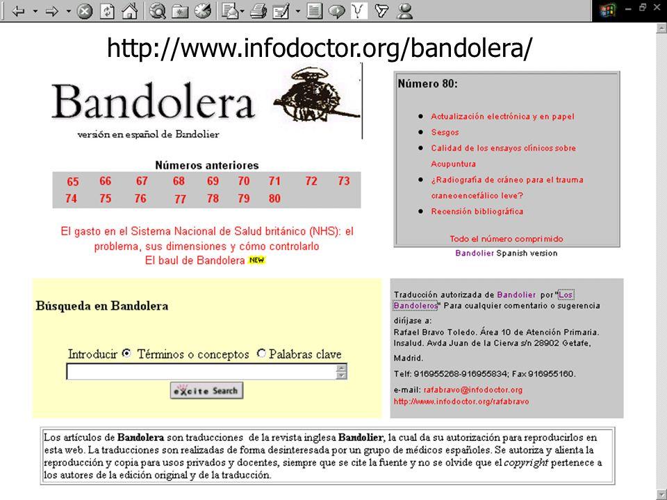 http://www.infodoctor.org/bandolera/