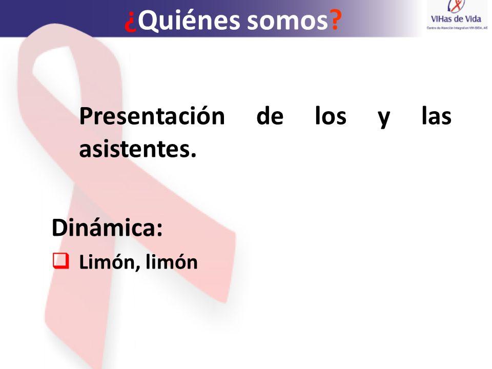 Objetivo del taller Aportar herramientas teórico- metodológicas para el reconocimiento y defensa de los derechos de las personas que viven y conviven con el VIH.