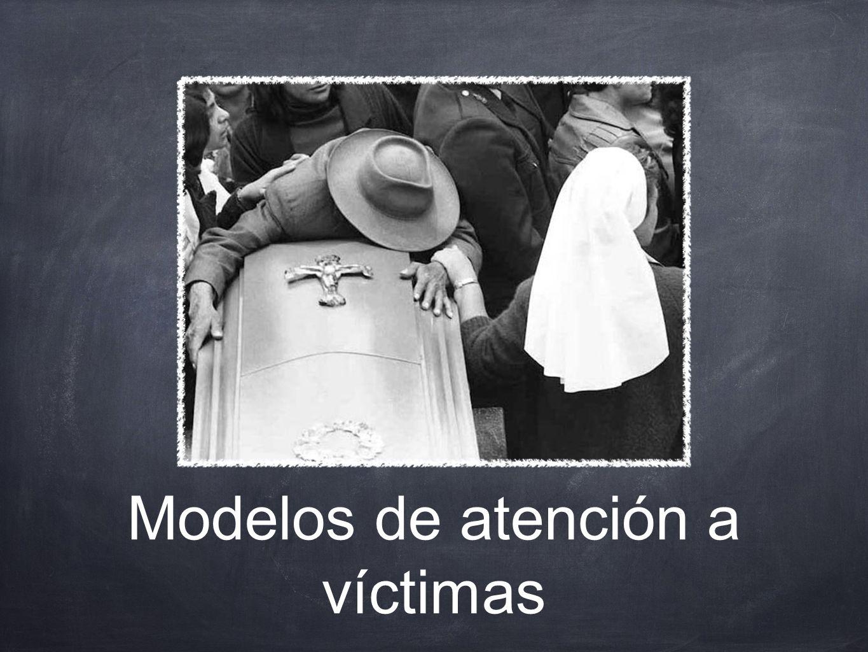 Modelos de atención a víctimas
